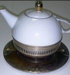 Чайник с подставкой(старый)
