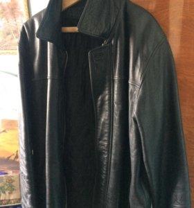 Куртка кожаная Б/У