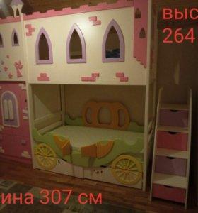 Детская стенка и кроватка
