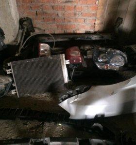 Диффузор с радиаторами Рено дастер