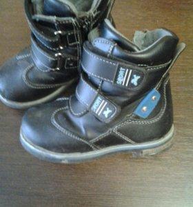 Ботинки демисезонные,р24