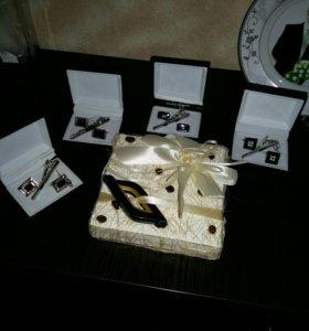 Наборы подарочные запонки