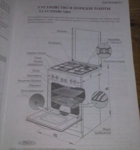 Плита газовая Гефест