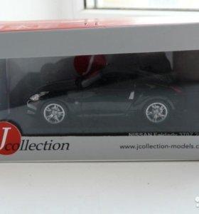 Модель автомобиля nissan fairlady 370z 2009 black