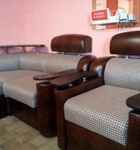 Набор угловой диван+ кресло новый