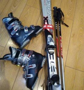 Горные лыжи, горнолыжное снаряжение