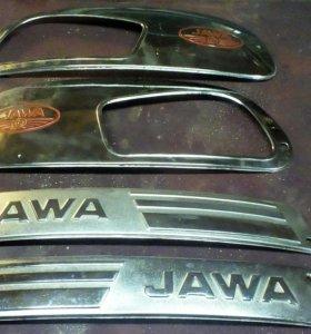 Молдинги бензобака JAWA