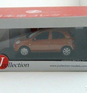 Модель автомобиля nissan micra 2010