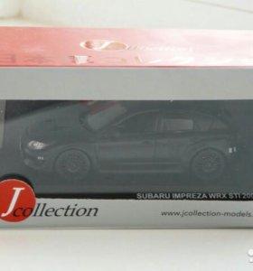 Модель автомобиля subaru impreza wrx sti 2008