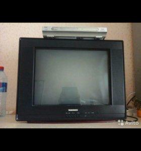Телевизор Thomson продается вместе с DVD