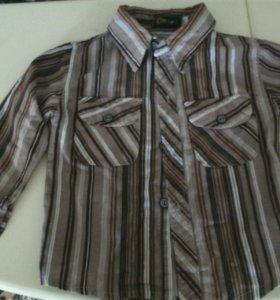 Рубашечка байковая