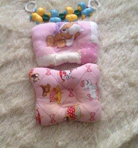 Подушка для грудничков ортопедическая