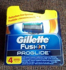 Лезвии для бритья Gillette Fusion Proglide (4 шт)