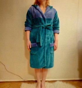 Женский теплый халат . Новый
