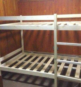 Двухъярусная кровать (120х200) четырехместная