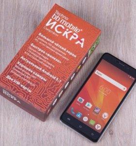 """Смартфон 5"""", 2 симкарты, GPS. Новый."""