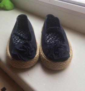 Новые туфельки Mothercare (19UK) 12,5см