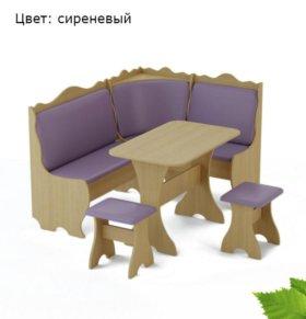 Кухонный уголок КУ-01 Береза Мебель