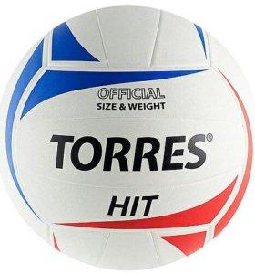 Мяч волейбольный Torres Hit N5 (новый)
