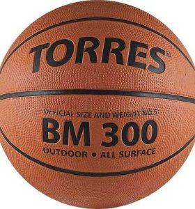 Мяч баскетбольный Torres BM300 N7 (новый)