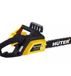 Электрическая цепная пила Huter 2000P
