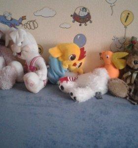 Мягкие игрушки  Подарки ребенку!!!!