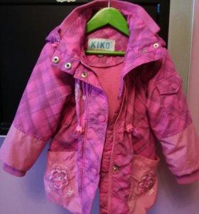 Куртка демисезонная размер 80
