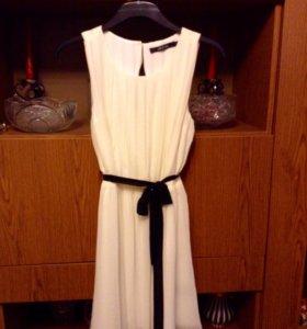 Платье  шифон гофрированный