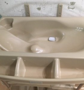 Детская ванночка с пеленальным столом