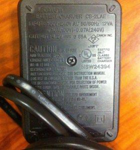 Зарядка для фотоаппарата Canon