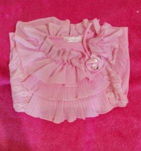 Розовая блуза.