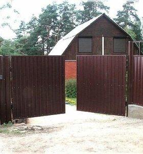 Металлические двери, ворота, заборы, системы охран