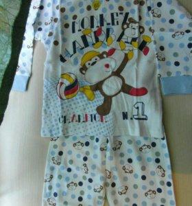 Детские пижамы для мальчиков от года до 5 лет