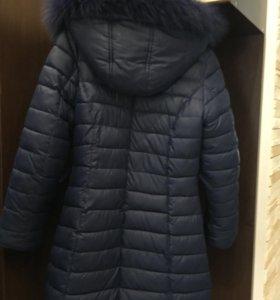Пуховик зимний для девочки