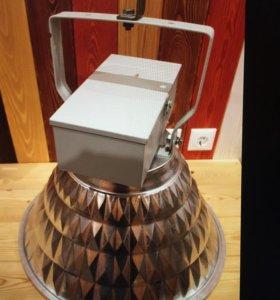 Мощный индукционный светильник для гаража 200 Вт