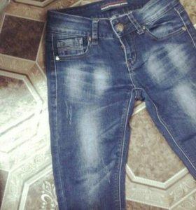 Трубочки джинсовые