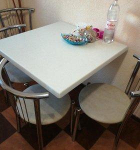 Продаеться стол и шесть стульев