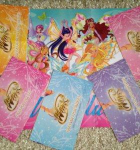 Плакаты Winx (5 шт.)