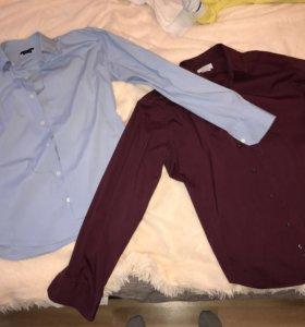 2 рубашки Zara l-xl