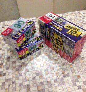 Аудио кассеты из Японии новые