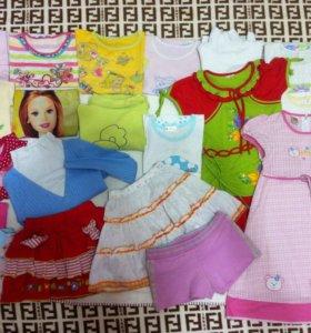 Одежда на девочку 3-5лет