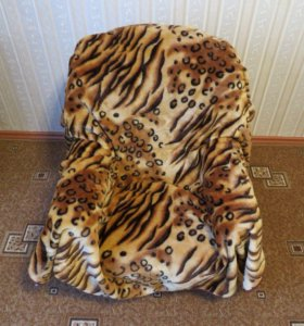 Плед / Покрывало «Тигровое». 160х220 см.