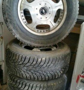 Комплект зимних колес на 18