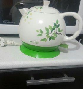 Чайник керамический Vitek