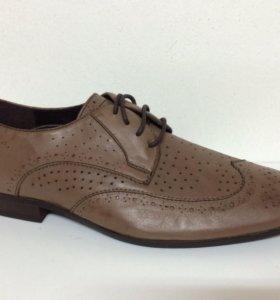 Новые туфли Gerzedo коричневые