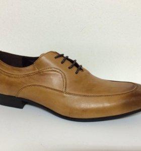 Новые туфли Gerzedo рыжие