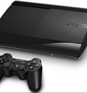 Sony PlayStation 3 Super slim + 4 игрушки