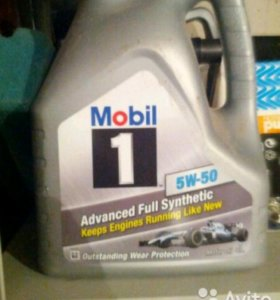 Масло Mobil 1 5w-50