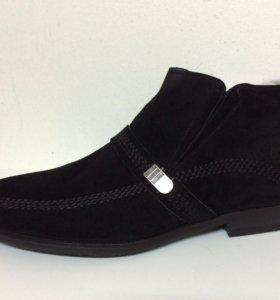 Новые ботинки Jillionaire велюр