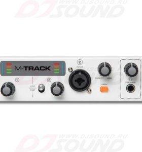 Звуковая карта M-AUDIO, M-TRACK 2